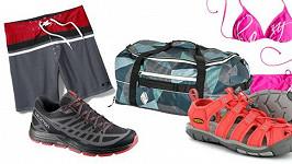 Speciál pro dovolenou: žabky k plavkám zdarma, sleva na trekové boty a kufry!