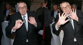 Vladimír Páral si párty užil.