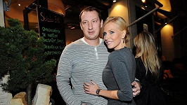 Míša Ochotská s přítelem Michalem Exnerem.