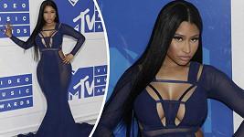 Nicki Minaj zdůraznila své křivky.