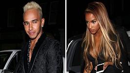 Budou Lewis Hamilton a Fanny Neguesha novým párem šoubyznysu?