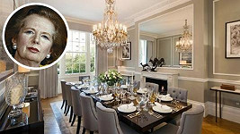 Dům Margaret Thatcher je na prodej.