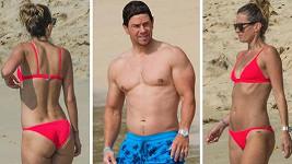 Mark a Rhea předvedli na Barbadosu svá dokonalá těla.