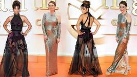 Halle Berry a Julianne Moore se sešly londýnské premiéře filmu Kingsman: The Golden Circle