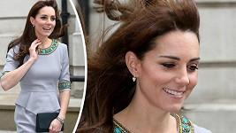 Kate byla krásná i s rozcuchanými vlasy.