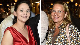 Alena Mihulová a Tereza Pokorná, dvě krásky 80. let