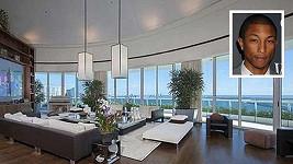 Apartmán Pharrella Williamse se zhmotnělý luxus, nyní hledá nového majitele.