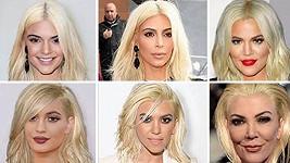 Takhle by vypadaly všechny ženy z rodiny v Kimině účesu...