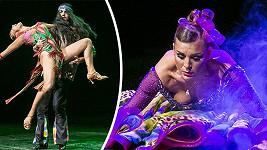 Lenka Krobotová předvedla své taneční umění.