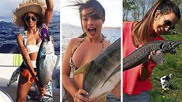 Na ryby chodí i krásné holky...