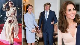 Vévodkyně z Cambridge v roce 2016
