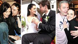 Tohle jsou přeborníci na krátká manželství.
