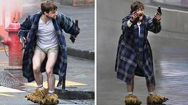 Hábit z Harryho Pottera vyměnil za trenky a župan.