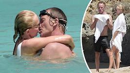 Sting s Trudie Styler v Karibiku