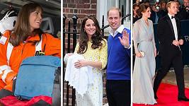 Z vévodkyně Kate se stala dvojnásobná maminka, ale nejen v tomto duchu nesl rok 2015...