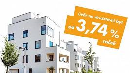 Získejte na koupi družstevního bytu až 2 000 000 Kč bez zajištění