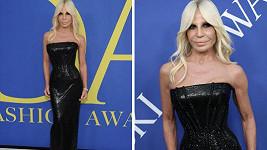 Donatella je možná až příliš hubená.