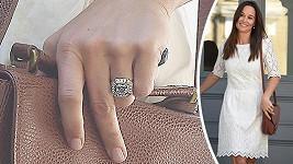 Pippa Middleton a její zásnubní prsten...