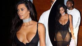 Kim Kardashian oblékla eroticky vyhlížející model.