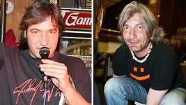 Dan Hůlka (vpravo) se kdysi podobal Jiřímu Babicovi...