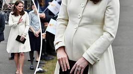 Vévodkyně Kate a její manžel William se v dubnu dočkají třetího dítěte.