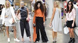 Na týdnu módy byly nejdůležitějšímy doplňky nápad a odvaha.
