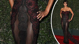 Halle Berry (51) v Pasadeně na udělování cen NAACP Image Awards