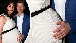 Morena a Ben očekávají porod každým dnem.