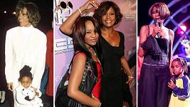 Whitney Houston i její dcera Bobbi Kristina měly nešťastný osud.