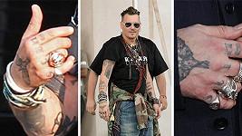 Johnny Depp a jeho tetovací proměny posledních dní...
