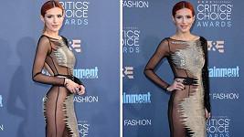Bella Thorne zvolila rafinovaný model.