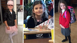 Do první třídy dnes vedly své děti Eva Decastelo, Michaela Nosková i Markéta Divišová.