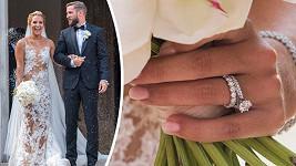 Vše, co jste chtěli vědět o svatebkách a doplňcích nádherné nevěsty Cibulkové.