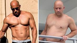 Vin Diesel maličko polevil se cvičením...