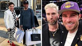 Leoš Mareš se v Los Angeles potkal s celebritami.