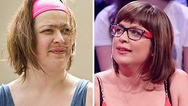 Anežka Rusevová vypadá ve skutečnosti úplně jinak než v seriálu.