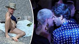 Katy Perry si dovolenou v Itálii užívá plnými doušky.