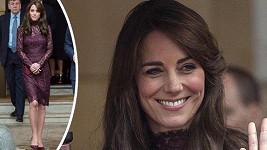 Kate doprovázela manžela na setkání s čínským prezidentem.