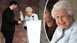 Královna Alžběta II. si přehlídku užila.