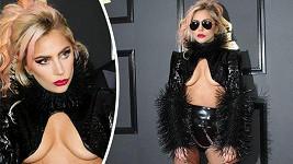 Lady Gaga vypadala jako domina.
