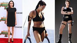 Angelina výrazně zhubla.