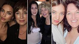 Takhle vypadají maminky slavných celebrit.