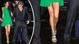 Amal Clooney s manželem Georgem zavítali na filmový festival v New Yorku.