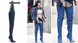 Rihanna už novinku provětrala v New Yorku...