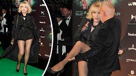 Amanda Lear vystavila své dokonalé nožky.