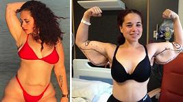 Váha Jessicy Wallace-Whitfield (28) z Baham se dostala až na nešťastných 134,5 kg.