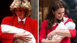 Vévodkyně Kate má podobný vkus jako princezna Diana