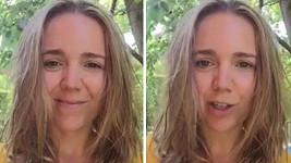 Lucie Vondráčková zdravila fanoušky bez make-upu.