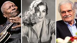B.B. King, Anita Ekberg a Omar Sharif