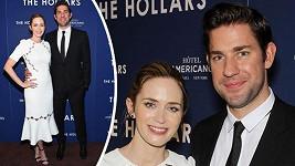 Emily Blunt vyrazila s manželem dva měsíce po porodu na premiéru.